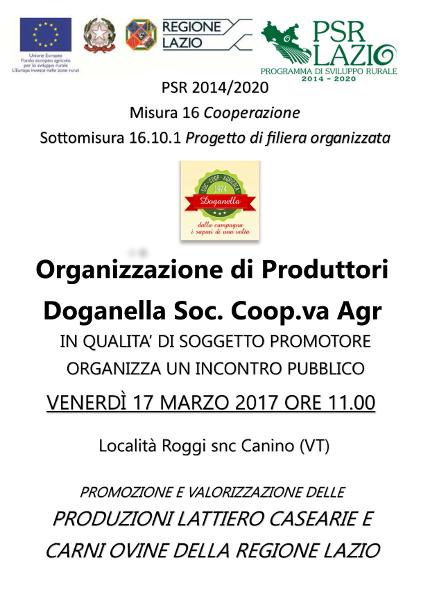 Riunione  Doganella organizzazione di produttori